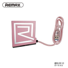 Remax USB Charger Hub 3 USB Ports 3.0 Car Reader Hub 1 Micro USB Port OTG Compatible Memento Version