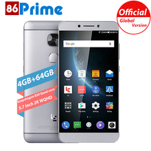 Original LETV LeEco LE MAX 2 X829 Mobile Phone 4G+64GB Snapdragon 820 Quad Core 5.7 inch WQHD Smartphone 21MP android Cell phone