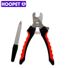 HOOPET Puppy Dog Stainless Steel Pet Nail Clippers Toe Grooming Pet Products(China)