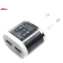 Effelon 5V 2.1A USB Power EU Wall Adapter Mobile Phone Charger for iPad 2 3 4 for iPhone 5/5C 5S 4/4S for iPod Touch