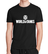 Manufacture World War ii Tank T-SHIRT homme Plus size hop hop fitness Top Tee 2017 summer style Funny World Of Tanks T Shirt men