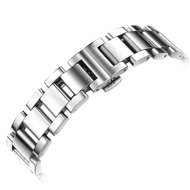 Stainless Steel Watchbands For IWC Men Watch 18mm 20mm 21mm 22mm Metal Top Quality Bracelet Belt Male Watch Band For Watches<br>