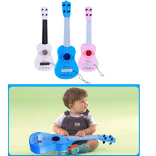 Children's simulation guitar ukulele toy piano four strings can play early educational puzzle baby toys