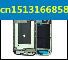 10pieces/lot HK OEM Front Housing Frame Bezel for Samsung Galaxy S4 i9506(China)