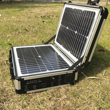 300W Solar System Outdoor Emergency Rescue Portable Solar Power Suitcase Including 300w Inverter 10A Cintroller(China)
