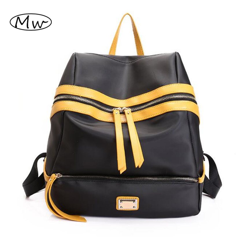 Top Quality Nylon Backpack Women Double Shoulder Bag Lightweight Oxford Travel Backpack School Bags For Girls Fashion Mummy Bag<br><br>Aliexpress
