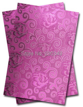 New design and hot-selling and fashion African Sego headtie ,DAMASK SEGO,AFRICAN HEAD TIE,GELE,,2pcs/set No.ITT638 FUSHIA
