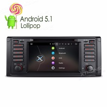"XTRONS 7"" HD Android 5.1 Car DVD Player for BMW 5 Series / X5 E39 E53 with Google Voice Search DAB+OBD2 CANbus GPS Navigate Mpas"