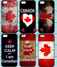Canada Canadian Flag TPU Phone Case for Iphone 4S 5S SE 5C 6 6S 7 Plus Sony Z2 Z3 Compact Z4 Z5 Mini LG G2 G3 G4 G5