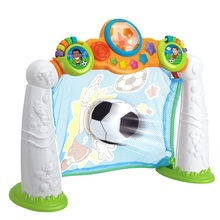 Children Soccer Goal Game Sports Toys Kids Gifts Mini Football Scoring Game with Music Light Outdoor Indoor Baby Toys