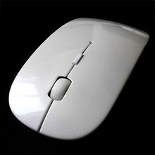 Ultrathin 10m Wireless Bluetooth 3.0 Interface Mouse Pro computer Mice Support For Macbook Microsoft OS System Black/White