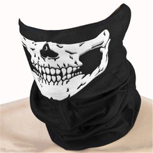 Hot Sell The Latest Skull head Bandana Helmet Neck Face Mask Paintball Halloween Gife Wholesale CC0028