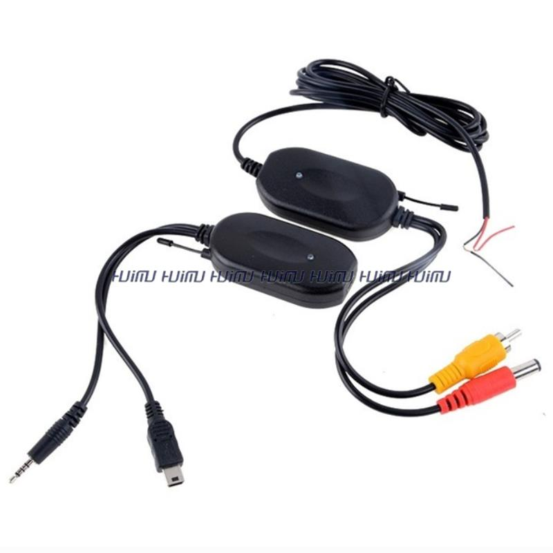 2.4G wireless car camera video transmitter and receiver for GPS 2.5mm plug with USB(China (Mainland))