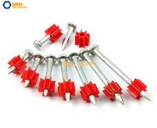 150 Pieces 3.5 x 22mm Steel Concrete Drive Pin Nail(China)