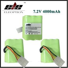 3x High quality For Neato XV-11 Vacuum Cleaner Battery 7.2v 4000 mAh Battery Replacement For Neato 945-0005 Set(China)