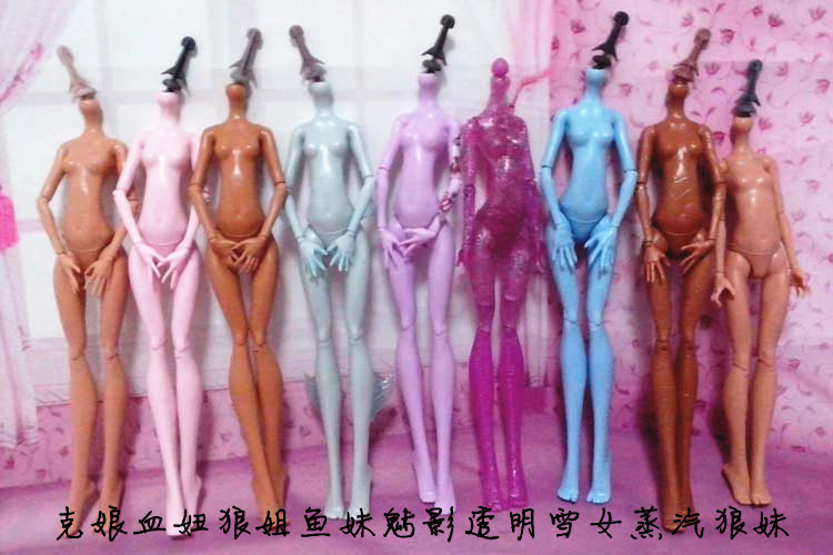 HOT Original Demon Monster Dolls Naked Body Without Head For Dolls DIY Multi-Joints Detachable Rotatable Arm Leg 1/6 Doll Bodies<br><br>Aliexpress