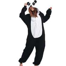 Women Onesie Panda Pajama Animal panda sleepwear Adult Unisex Cosplay Costume Winter Warm Onsie Women Nightwear Homewear(China)