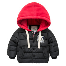 Buy 2018 New Brand Children Clothing Outerwear Boys Thick Parka Winter Warm Hooded Cotton-padded Clothes Fashion Kids Topcoat/jacket for $18.07 in AliExpress store