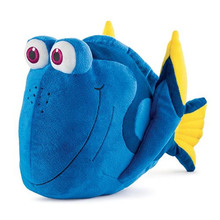 "Free Shipping 35cm=13.8"" Cartoon Finding Nemo plush doll Dory fish Stuffed Animal Soft Plush Toy Plush Doll for baby gift(China)"