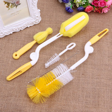 Hot Sale 5pcs Baby Feeding Milk Bottle Nipple Teat Spout Tube Cleaning Brush Cleaner JUN27(China)