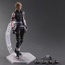 26cm Anime Play Arts kai Final Fantasy Figure Variant Prompto Argentum Action Figures Variable Collection Model Toy