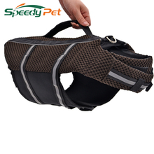 Free Shipping Durable Oxford Breathable Mesh Pet Dog Life Jacket Summer Dog Swimwear Puppy Life Vest Safety Clothes For Dogs