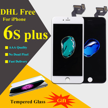 TIANMA GLASS AAA quality repair For Iphone 6s plus LCD Display No Dead Pixel 5.5 Inch Touch Screen Digitizer Assembly DHL free