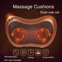New Arrive Home Car Two Use Vibrating Infrared Heating Massage Waist, Cervical, Buttocks Massage Electric Neck Relaxation