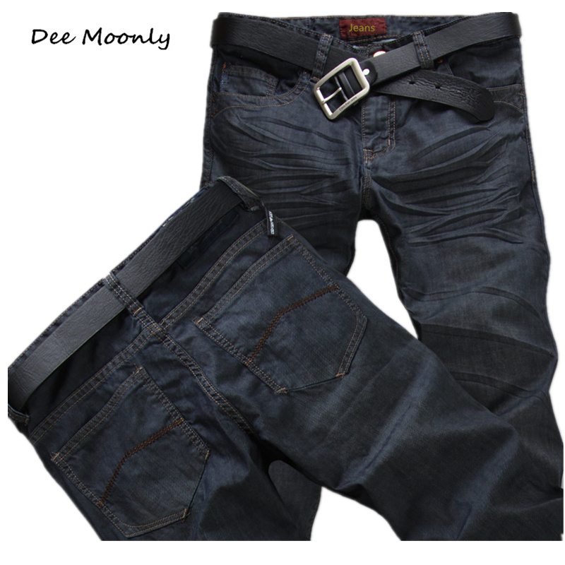 DEE MOONLY New 2017 hot high quality fashion casual denim pants famous brand jeans men men's trousers jeans