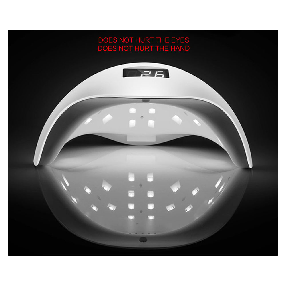 New Gel Nail Dryer Lamp 48W SUN5 White Light Profession Manicure LED UV Dryer Lamp Fit Curing All Nail Polish Nail Gel Art Tools<br>