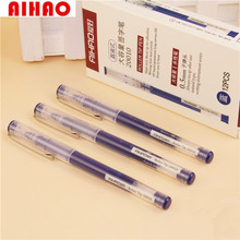 AIHAO Brand Gel-Ink Pen, Smooth Writing 12pcs Roller Tip Pen,Chinese Style School Gift Stationery High Quality(China)