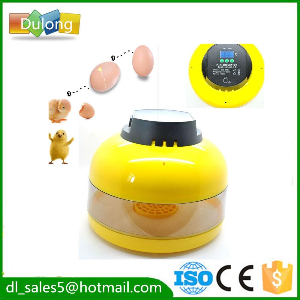 Eggs  Incubator Automatic Turning 10 egg Brooder Chichen Duck  Digital Temperature Control <br>