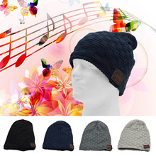 Vococal Universal Bluetooth Smart Music Speaker Winter Beanie Hat for Xiaomi Xiomi iPad iPhone 6 7 Cellphone Tablet Computer