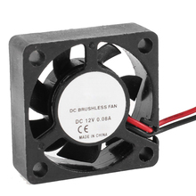 CAA-Hot Sale 30mm x 30mm x 10mm 2Pin DC 12V Sleeve Bearing 6000RPM Cooling Fan