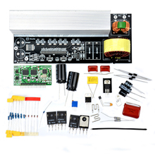 2000W Pure Sine Wave Inverter Power Board Modified Sine Wave Post Amplifier Kits with Heat sinks
