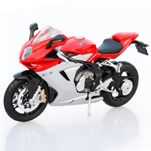 1:12 Maisto Racing Motorcycle Toy Diecast Metal & ABS Motorbike Model Emulation F3 Motor Car Kids Toys Brinquedos Adults Gifts(China)