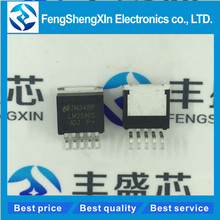 50pcs/lot    New   LM2596S-ADJ    LM2596S    SIMPLE SWITCHER Power Converter 150 kHz 3A Step-Down Voltage Regulator  TO-263-5