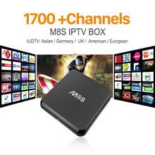 M8S Amlogic S812 Android Smart TV Box with IUDTV Iptv Account Arabic Sport Canal IPTV Quad Core 2GB RAM 8GB ROM IPTV Set Top Box