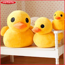 Plush Stuffed Toys Big Yellow Duck Plush Toys Stuffed Duck Doll for Children Cotton Soft 20cm Ducks Free Shipping