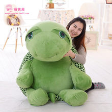 2016 new High Quality 150cm Large Stuffed Soft Plush Huge Animal Big Eye Turtle Toy, Nice Baby Gift