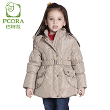 PCORA Girls Winter Jackets Children Clothes Girls Clothes Thick Autumn/Winter Outerwear Fashion Keep Warm Coat Kids Girl Clothes