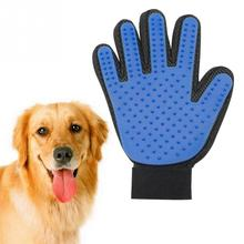 NEW Pet Supplies Mitten Gloves Shaped Dog Cat Fur Blush Hair Smoothing Comb Rubber Paws Pattern Glove Washing Combs