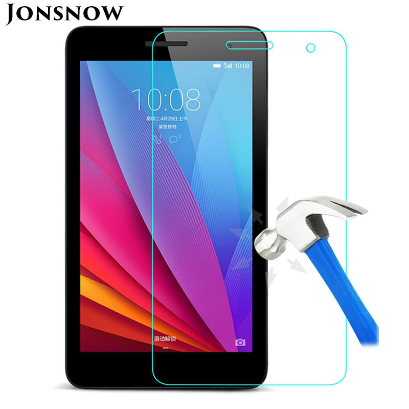 KTG1123_1_9H 2.5D Explosion-Proof Tempered Glass for Huawei Mediapad T1-701U HUAWEI T1 7 inch