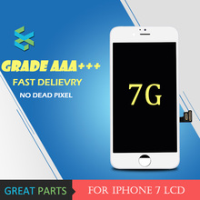 5PCS Grade AAA Top Quality For iPhone 7 LCD glass Display Digitizer With Good 3D Touch Screen Replacement Assembly Parts