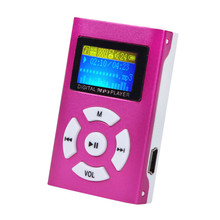 Top Selling USB Mini MP3 Player LCD Screen reproductor mp3 Music Player Support 32GB Micro SD TF Card #ET1(China)