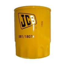 Oil filter 581/18076, 581-18076 used for JCB (58118076) replacment parts