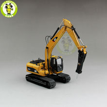 1/50 Norscot 55280 320D L Hydraulic Excavator with CAT H120E s Diecast Model