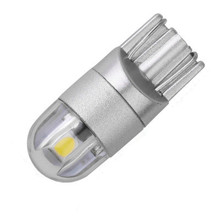 T10 LED w5w car light SMD 3030 marker lamp 194 501 bulb wedge parking dome light auto car styling 12v white wholesale(China)