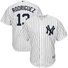 MLB Men's New York Yankees 12 Alex Rodriguez Baseball White Home Cool Base Authentic Player Jersey(China)