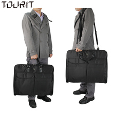 59.7*48.3*7.6 CM High Quality Waterproof Clothing Shirt Suits Storage Bags Fashion Floding Travel Bag Portable Men's Travel Bag